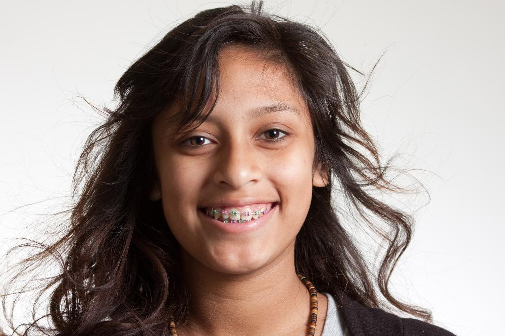 Girl with Braces | Lynwood CA Orthodontist