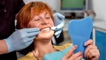 Woman at Dentist | Dental Implants in Los Angeles